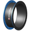 "18"" ID X 8"" FF Round Style 1092 fully molded rubber flanged standard ducting expansion joint"
